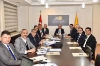 AHMET ŞAHIN - Hüyük'ün 2020 Yılı Yatırım Planlamaları Masaya Yatırıldı