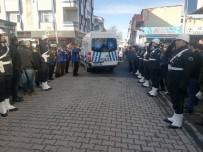 RESMİ TÖREN - Polis Memuru Sami Avcı Son Yolcuğuna Uğurlandı