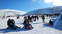 Akdağ Kayak Merkezi'ne Büyük İlgi