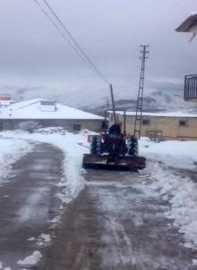 Kar, Darende'de Hayatı Olumsuz Etkiledi