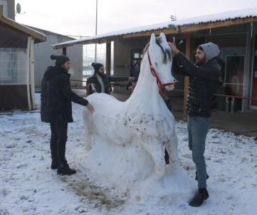 Kar Ve Soğuğu Sanata Dönüştürdüler