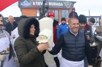 KARBON - Kış Ortasında Dondurma İzdihamı