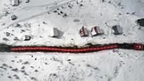 İSMAIL USTAOĞLU - Sarıkamış Şehitleri 2 Bin 200 Rakımlı Sis Dağı'nda Anıldı