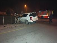 ARAZİ ARACI - Düzce'de Trafik Kazası 1 Yaralı