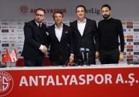 BÜLENT KORKMAZ - Tamer Tuna Antalyaspor'da Üç Ayrılığı Açıkladı