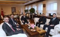 HıZLı TREN - Adıyaman Milletvekilleri Bakan Turhan İle Görüştü