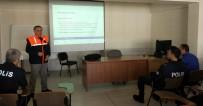 RADYASYON - Bayburt'ta Emniyet Personeline Sivil Savunma Ve Yangın Eğitimi Verildi