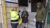 HıZıR - Belediye Personeli Bulduğu Poşeti Sahibine Ulaştırdı