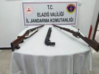 KESKİN NİŞANCI - Elazığ'da Jandarma, Biri Keskin Nişancı Tüfeği 3 Silah Ele Geçirdi