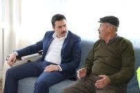 AHMET ŞAHIN - Kaymakam Fırat, Kıbrıs Gazisi'ni Ziyaret Etti