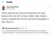 TEKNİK ARIZA - Ukrayna Büyükelçisinden Uçak Kazasına İlişkin Açıklama