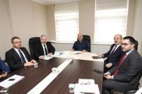 GEBZELI - Başkan Büyükgöz, Birim Müdürlerinden Çalışmaları Dinledi