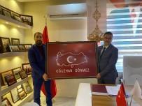 FEDERASYON BAŞKANI - Başsavcı Oğuzhan Dönemez'den Şehit Ailesi Federasyonuna Ziyaret