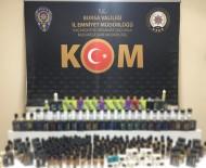 ELEKTRONİK SİGARA - Bursa'da Şüpheli Araçtan Yüzlerce Kaçak Ürün Ele Geçirildi