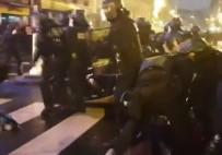 GAZ BOMBASI - Fransa polisinden sert müdahale!