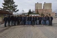 TUNÇBILEK - Kapatılan Tunçbilek Termik Santrali'nde 500 İşçi Ücretli İzne Çıkarıldı