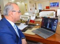 Başkan Kayda, Bakan Varank İle Telekonferans Toplantısına Katıldı