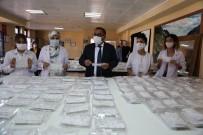 Halk Eğitim Merkezleri Tunceli'de Öğrenciler İçin Maske Üretimini Yoğunlaştırdı