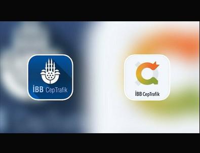 İBB TV'nin ardından İBB Cep Trafik'te de cami logosu çıkarıldı