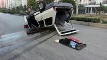 Kazazedelere İlk Müdahaleyi Kazaya Karışan Diğer Aracın Hemşire Sürücüsü Yaptı