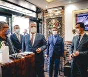 Vali Canbolat, Kestel'de Korona Virüs Denetimine Katıldı