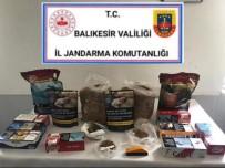 Bigadiç'te Jandarmadan Kaçak Tütün Operasyonu
