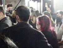 Bursa'da skandal görüntüler! Polis 'korona parti'sini bastı…