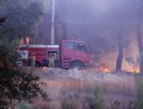 İSMET İNÖNÜ - Hatay'daki yangında son dakika! Alevler yeniden evlere sıçradı...