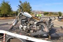 Sepetli Motosiklet İle Otomobil Çarpıştı Açıklaması 1 Ölü