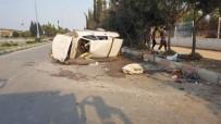 Ceyhan'da Tarım İşçileri Kaza Yaptı Açıklaması 7 Yaralı