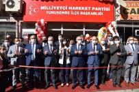MHP Yunusemre İlçe Binasının Açılışı Yapıldı