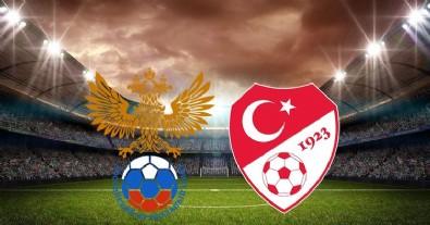 Rusya - Türkiye maçı sona erdi!