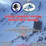 29 Ekim Cumhuriyet Bayramı Erciyes Zirve Tırmanışı