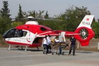 Kalp Krizi Geçiren Şahsın Yardımına Ambulans Helikopter Yetişti