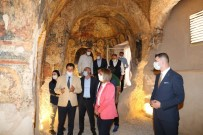 Vali Becel, Tatlarin Yeraltı Şehrini Gezdi