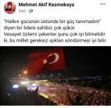 Amasya'dan 'Işıklar Yanıyor' Paylaşımına Tepki Açıklaması 'İstifa Etmeli'