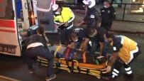E-5'Te Kontrolü Kaybeden Motosiklet Sürücüsü Bariyerlere Çarptı