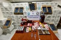 Gönen'de 4 Bin 150 Litre Etil Alkol Ele Geçirildi