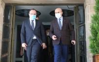 Mardin Valisi Demirtaş Elazığ Valisi Yırık İle Bir Araya Geldi