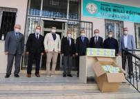 Turgutlu Belediyesinden Okullara 75 Bin Adet Maske Desteği