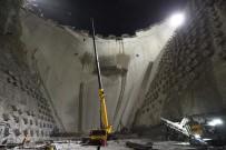 Yusufeli Barajı İnşaatı Gece Gündüz Demeden Devam Ediyor