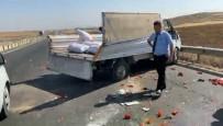 Biber Yüklü Kamyonet Takla Attı Açıklaması 3 Yaralı