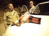 Projektörle Tavşan Avlayan 3 Kişi Şafak Operasyonu İle Suçüstü Yakalandı