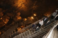 Sarıkaya Mağarasında İncelemelerde Bulunuldu