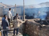 Tunceli'de 4 Ev Yandı, Yaraların Sarılması İçin Çalışma Başlatıldı
