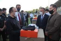 Elazığ'da 104 Spor Kulübüne  Malzeme Yardımı Yapıldı