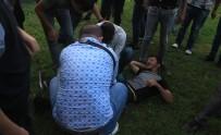 Samsun'da Parkta Silahlı Saldırı Açıklaması 1 Yaralı