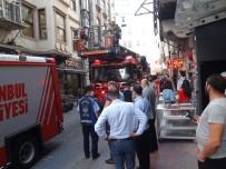 Taksim'de Yangın Paniği