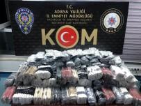Adana'da Kaçak İçki Ve Tütün Ele Geçirildi