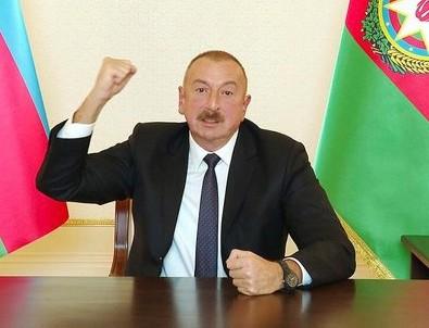 Azerbaycan Cumhurbaşkanı Aliyev: Ermenistan'a savaş meydanında cevap vereceğiz